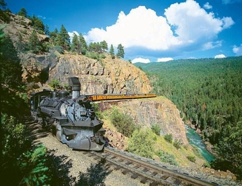 Vòng quanh thế giới bằng tàu hỏa
