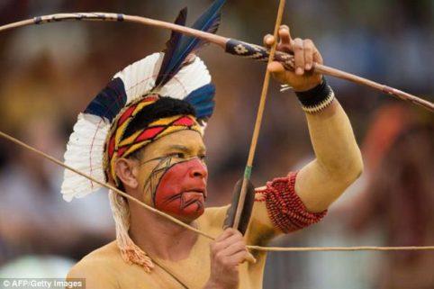 Sôi động thế vận hội kiểu thổ dân ở Brazil