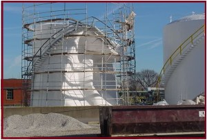 Collapsed Fertilizer Storage Tank due to Cavitation