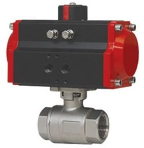 Air Actuated Stainless Ball Valve