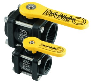 Banjo Ball Valves