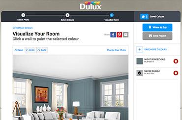 Dulux Paint Colour Visualizer