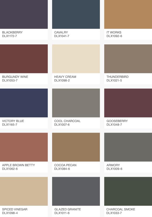 Dulux trade colour chart pdf