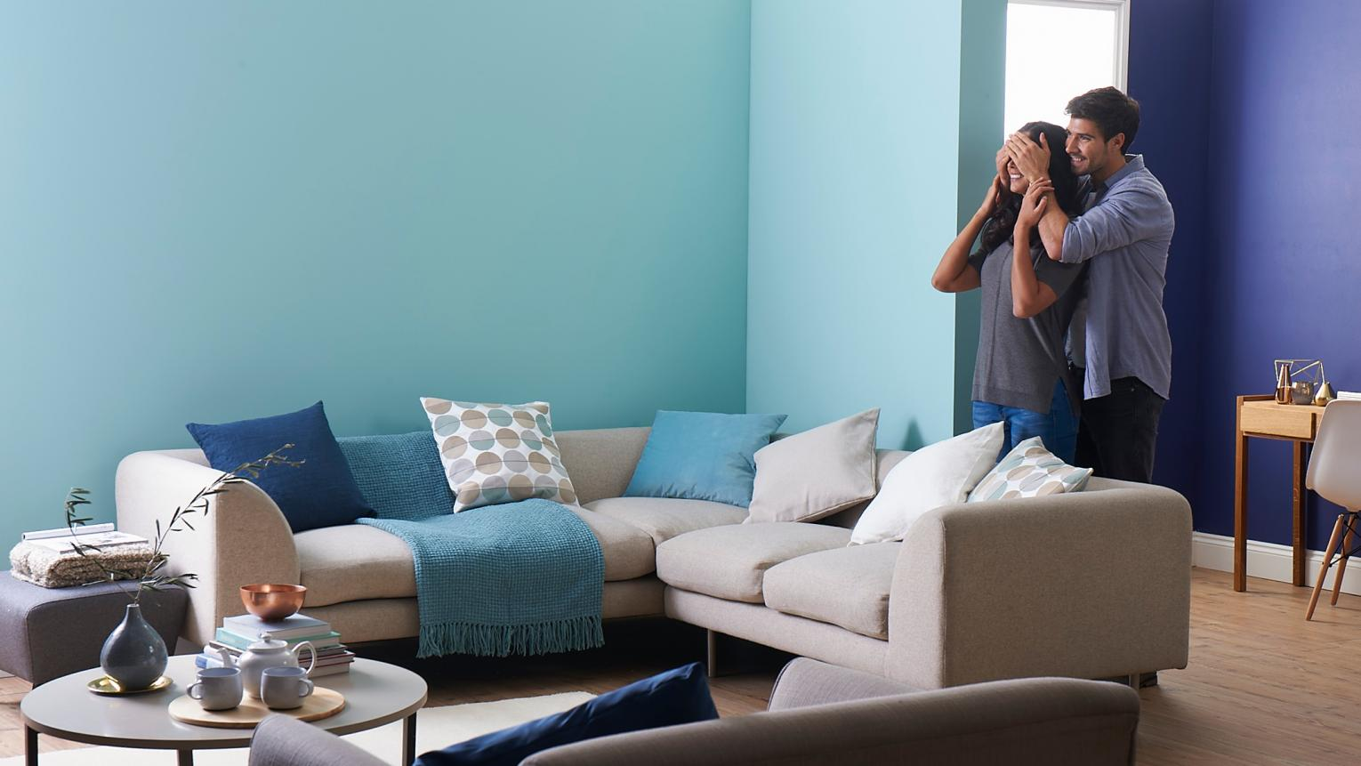 6 Sociable Colour Schemes To Revamp Living Room Walls Dulux