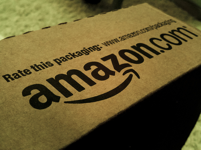 Amazon package - Photo by William Christiansen