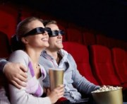 Couple at cinema