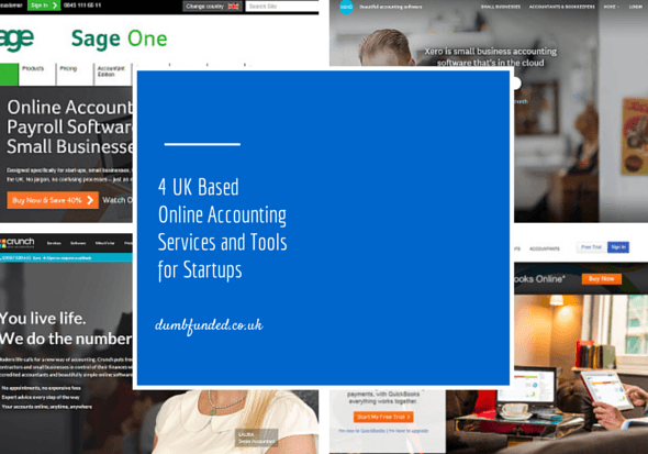 4 UK Based Online Accounting Services and Tools for Startups