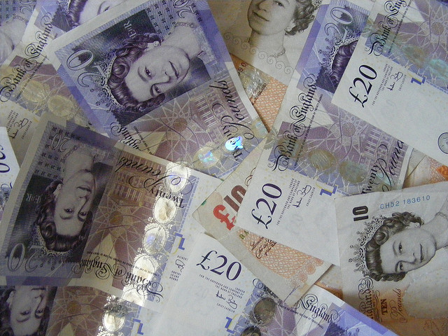 Ten & Twenty Pound Notes - By CJ Isherwood