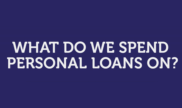 What do we spend personal loans on?