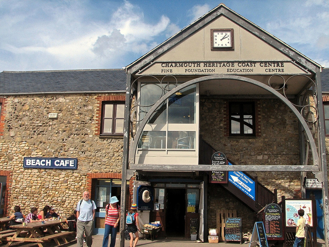 Visit the Charmouth Heritage Coast Centre