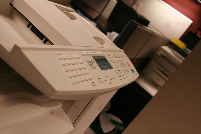 Office printer - Photo by Sorin Florea
