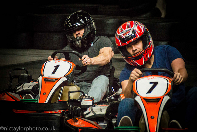 Finding The Perfect Work Team Building Exercises For Your Business - Go-Karting