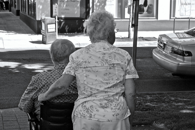Stay At Home - And Live Longer? - Elderly Couple