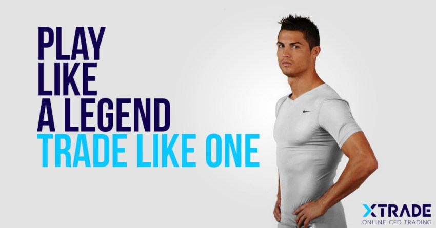 XTrade and 4 Other Brands That Are Successfully Using Celebrities in Their Marketing Campaigns - Cristiano Ronaldo