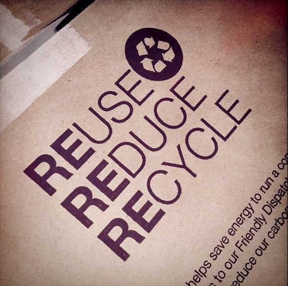 Moving House On A Budget - Reuse, Reduce, Recycle