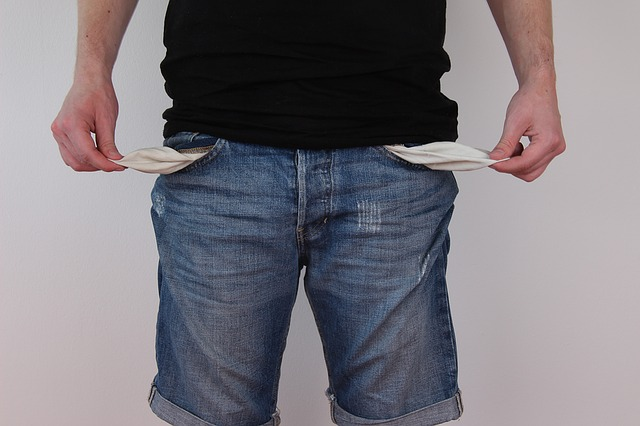 Insolvency: What Now? - Man With No Money In His Pockets
