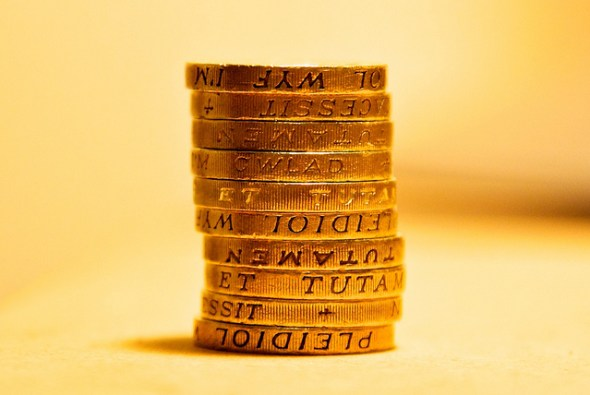 How Is The Alternative Finance Industry Holding Up Post-Brexit? Pound Coins - Image By Martin Reynolds