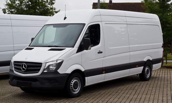 Choosing The Right Courier Service For Your Start-up Business - Mercedes-Benz Sprinter.