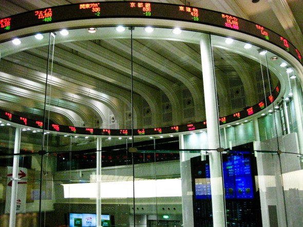 Stock Markets Around the World - Tokyo Stock Exchange