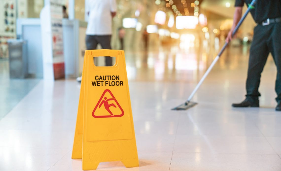 Cation Wet Floor Sign