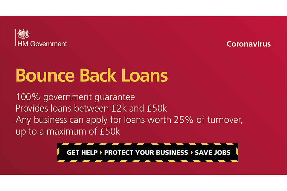 HM Government Bounceback Loan