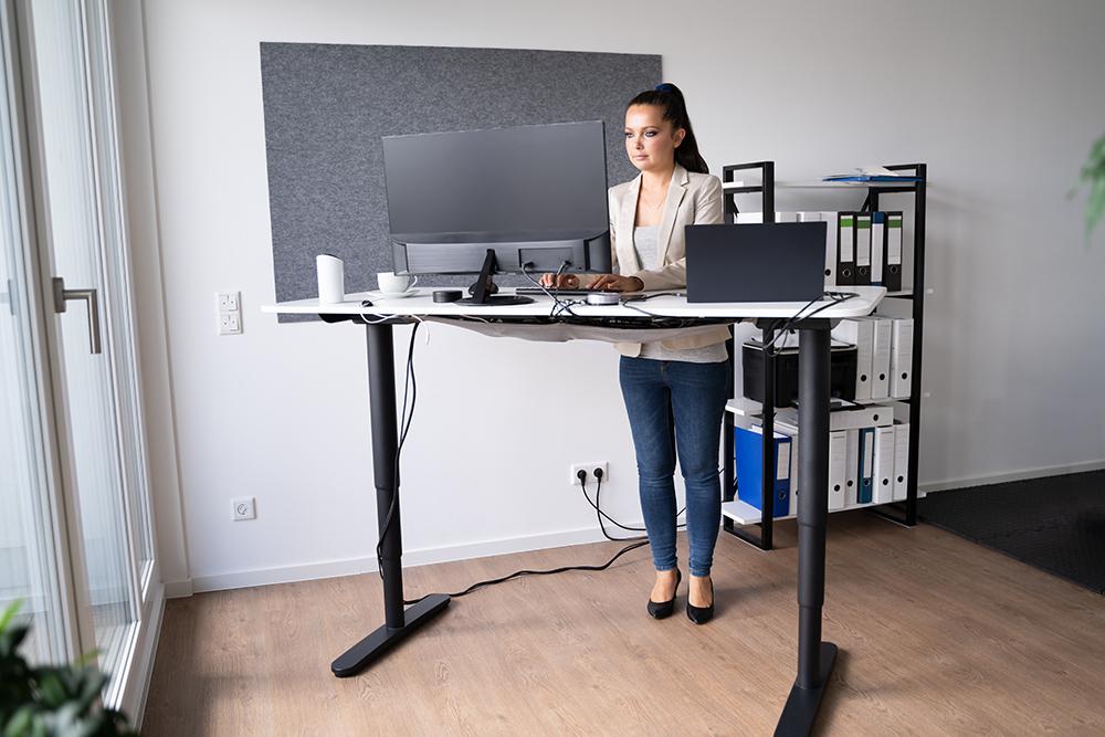 Adjustable Height Office Desk