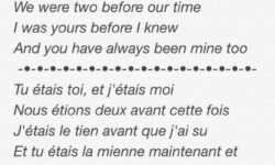 After that, use Google Translator to translate a poem into either French or Italian. Then,write it out with the translation on the back side. Or better yet, greet your partner at night and read it to them with passion. Hand them the translation after.