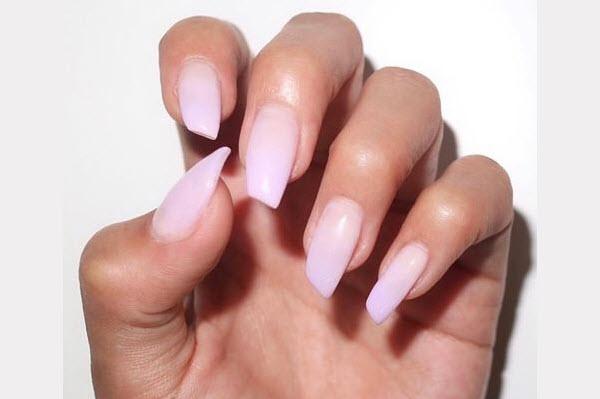 lipstick nail shape