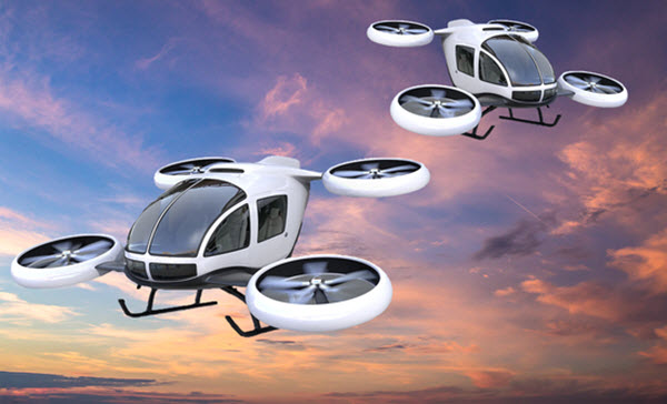 future transportation trends air taxis