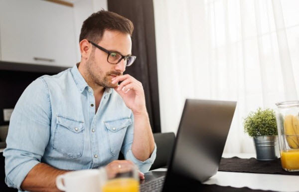 work from home with cyber security