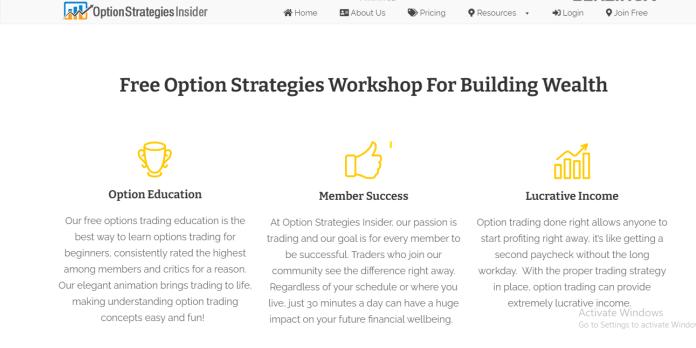 Options Strategies Insider