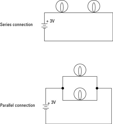 electronics projects how to build series and parallel