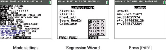 Regression Modeling On The Ti 84 Plus Dummies
