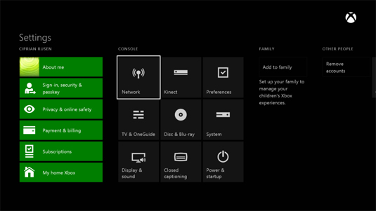 How To Connect Your Xbox One To Your Network Dummies