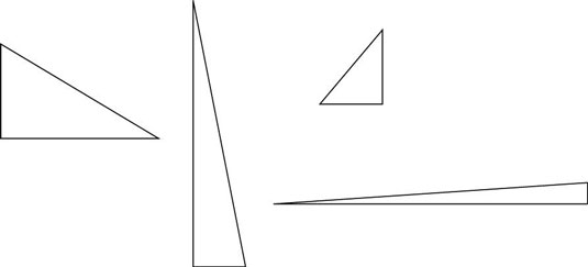 define a right triangle and its parts