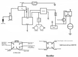 Lifan 110 motor wiring diagram  Honda 70 talk  Dumont