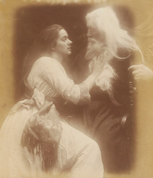 Julia Margaret Cameron's Vivien and Merlin