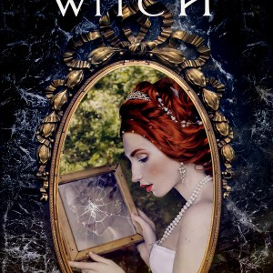 Book cover for Mirror Witch by Stace Dumoski showing a young soman looking into a broken mirror