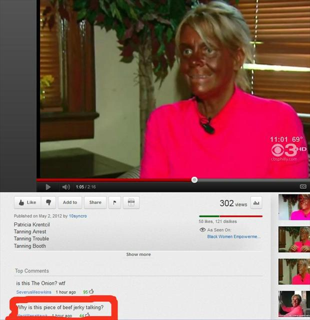 beef jerky, funny youtube comments