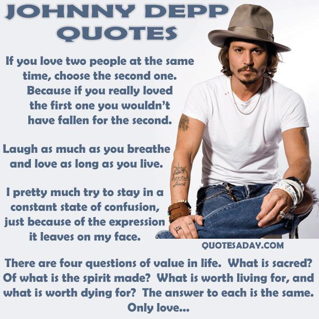 a Johnny Depp Quotes