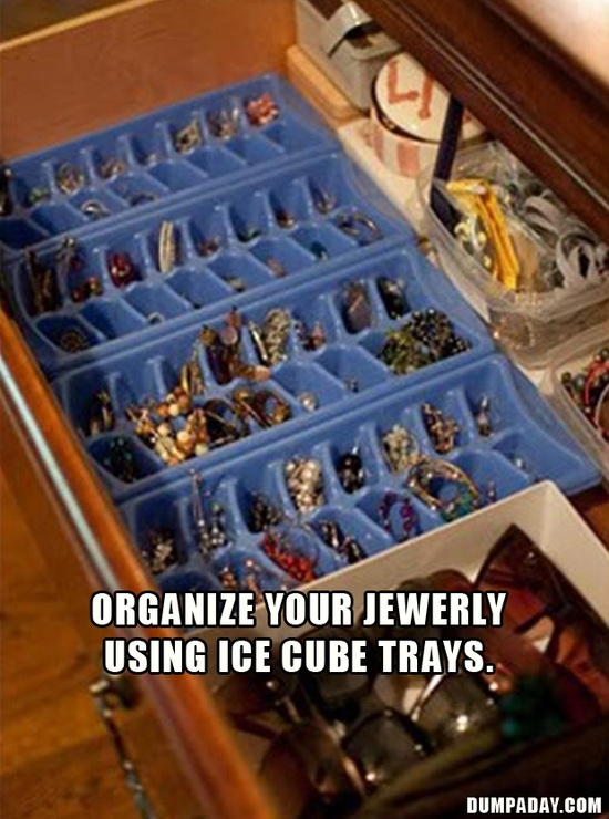 quick tip, organize your jewerly