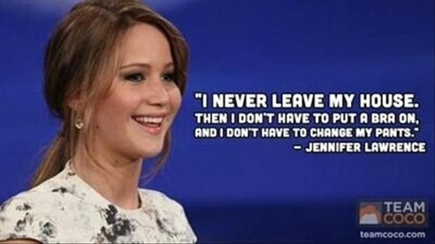 Jennifer Lawrence Quotes Hilarious