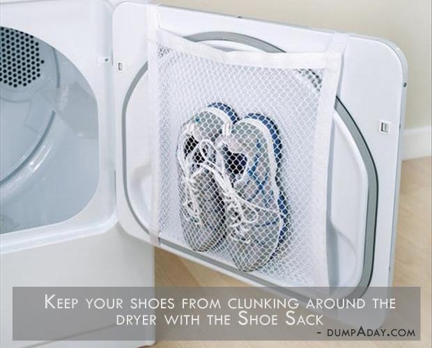 Genius Ideas- Dryer Shoe Sack