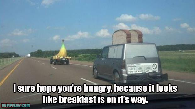 breakfast is on the way
