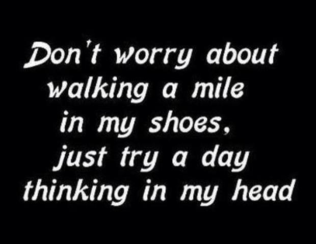My Day Quotes Shoes Walk
