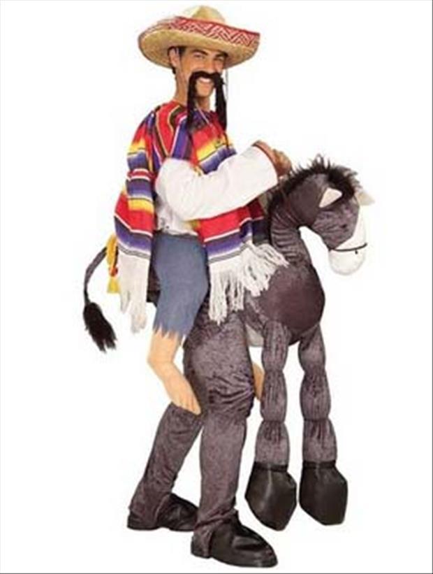 4 donkey gringo costume