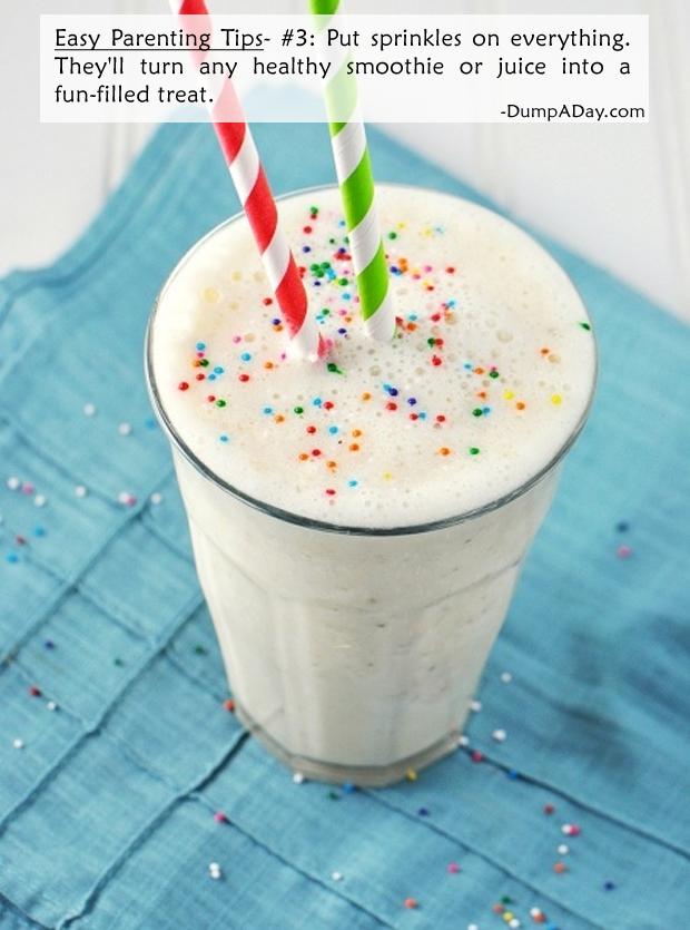 Easy Parenting Tips 3- Sprinkles