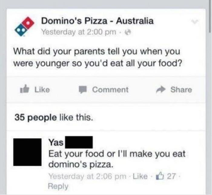eat all your food