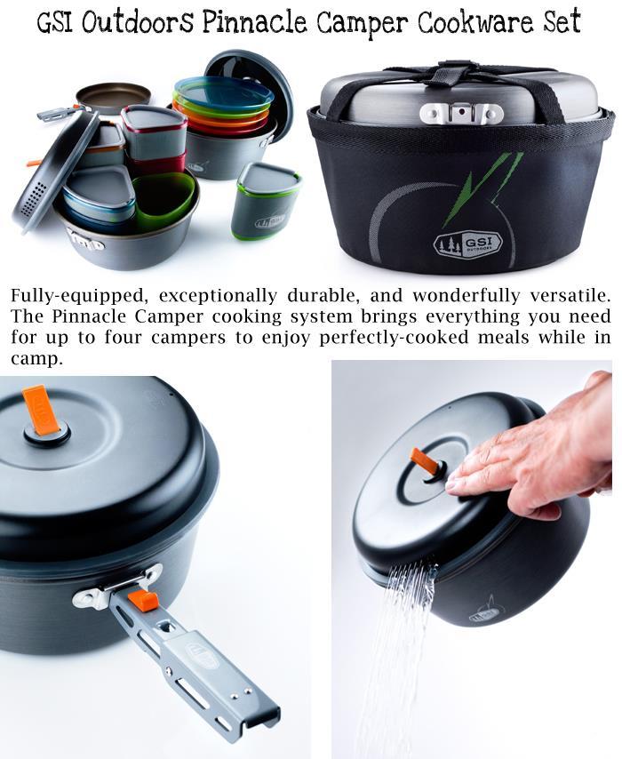 GSI Outdoors Pinnacle Camper Cookware Set