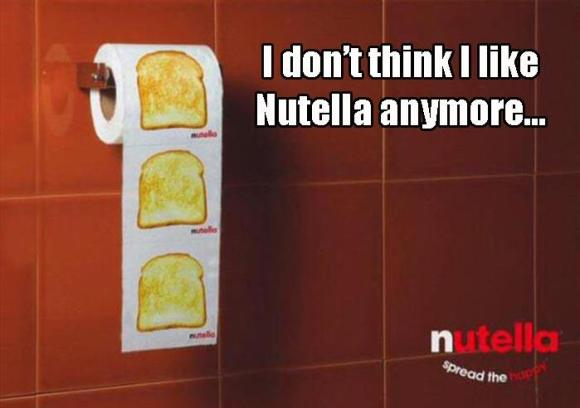 I don't think I like Nutella anymore
